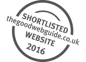Shortlisted in the Good Web Guide